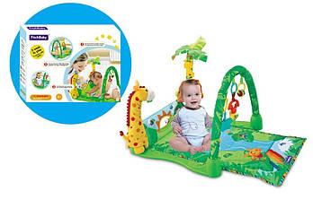 Развивающий игровой коврик для младенца 8502