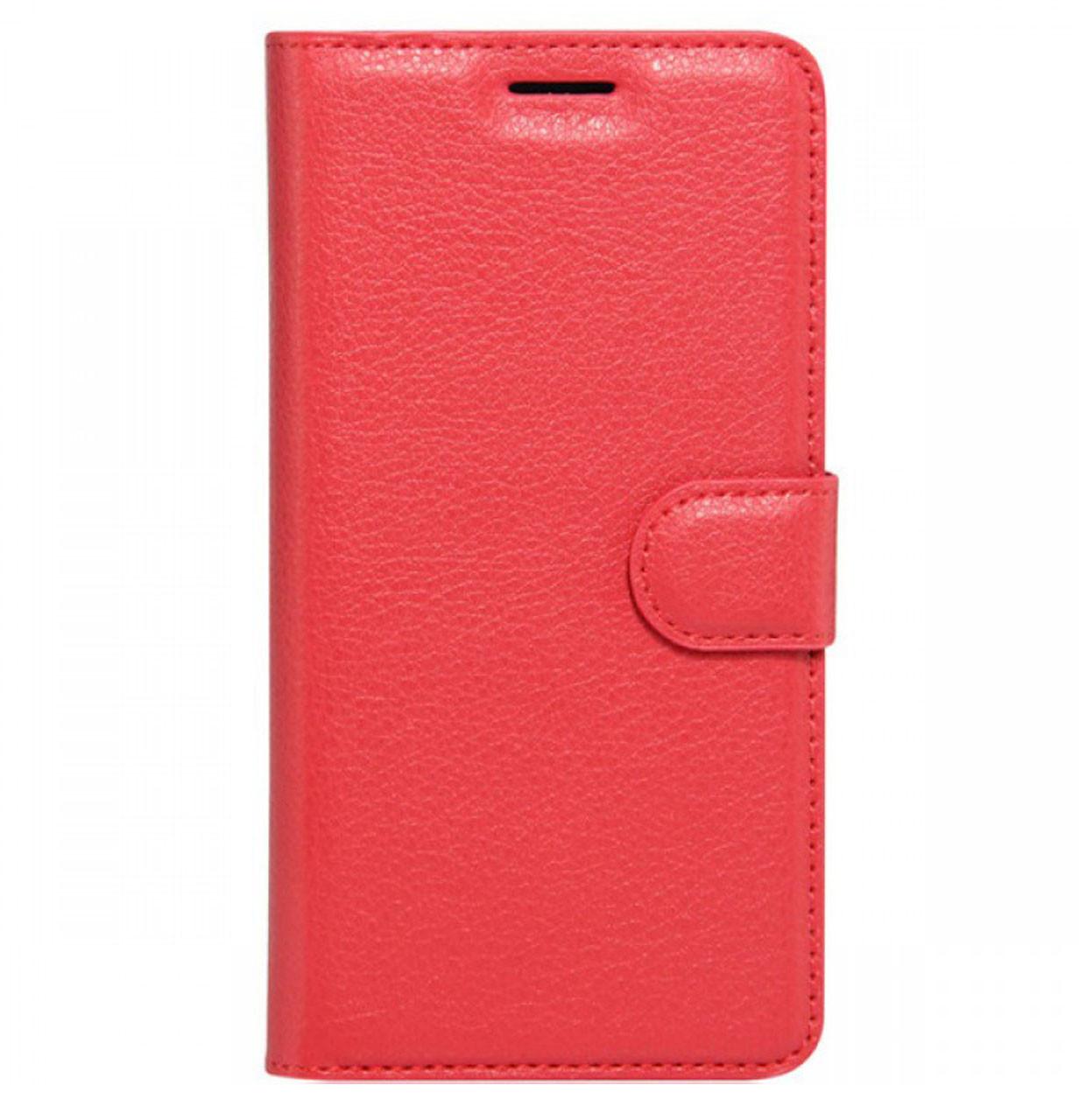 Чехол-книжка Wallet с визитницей для Huawei P20 Red