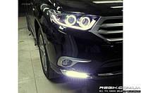 Штатные дневные ходовые огни (DRL) для Toyota Highlander T3