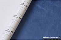 Алькантара самоклеющаяся Decoin (Корея) васильковый 145х10см