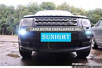 Штатные дневные ходовые огни (DRL) для Land Rover Freelander