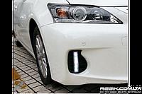 Штатные дневные ходовые огни (DRL) для Lexus CT200 T1