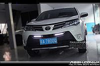 Штатные дневные ходовые огни (DRL) для Toyota Rav4 2013 T3