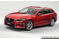 Штатные дневные ходовые огни (DRL) для Mazda 6  2014