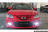 Штатные дневные ходовые огни (DRL) для Mazda 3 2003-2009