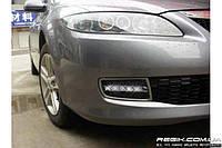 Штатные дневные ходовые огни (DRL) для Mazda 6 2003-2009