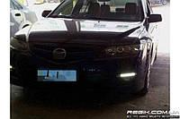 Штатные дневные ходовые огни (DRL) для Mazda 6 2005-2008 T2