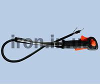 Ручка газа для бензокосы универсальная с трубой