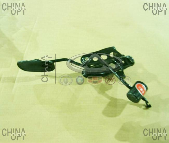 Педаль акселератора, в сборе, Geely MK2 [1.5, с 2010г.], 1014001609, Original parts