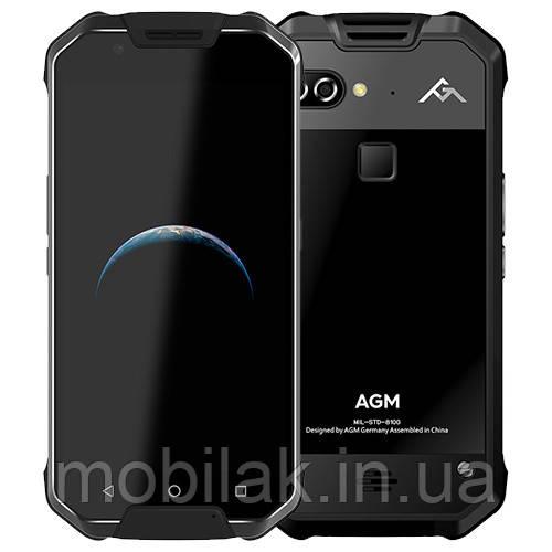 Защищённый смартфон AGM X2 6/64 Гб Black glass