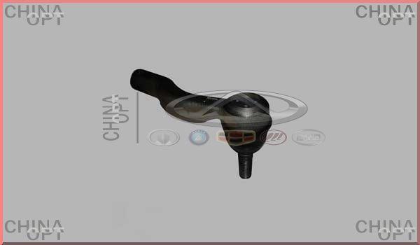 Наконечник рулевой тяги левый, Chery Tiggo [2.4, до 2010г.,MT], T11-3401050, Aftermarket
