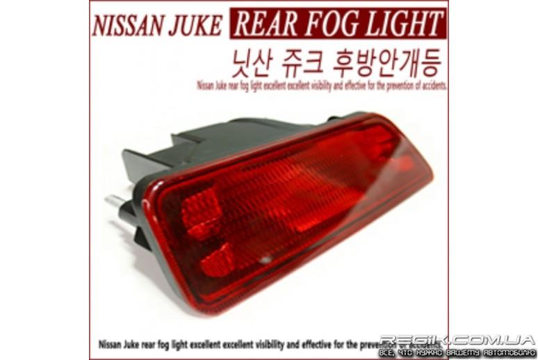 Задний противотуманный фонарь для Nissan Juke