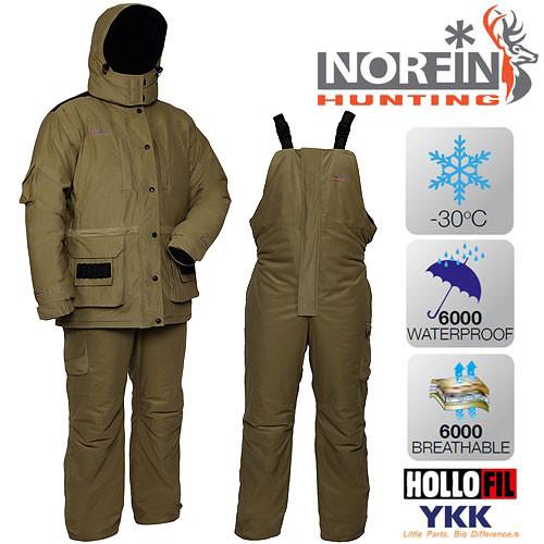 Зимний костюм Norfin Hunting WILD GREEN (-30°) р.S