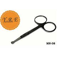 Ножницы детские для ногтей YRE MN-08, Ножницы для маникюра, Маникюрные ножницы YRE, Ножницы для маникюра и педикюра, маникюрный инструмент