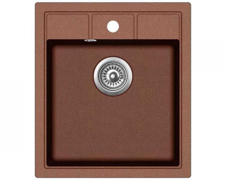 Гранитная кухонная мойка Adamant BRICK 460х515х200(разные цвета)