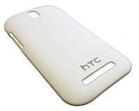 Чехол пластиковый бампер для HTC C520e / C525e / T528t / One SV / One ST белый (матовый)