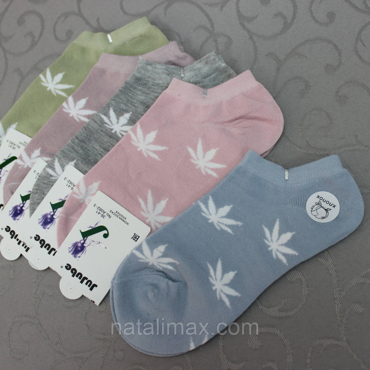 """Укороченные женские/ подростковые  носки """"JuJube"""", 36-41 р-р .  Женские носочки, носки для женщин короткие"""