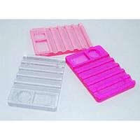 Подставка для кистей K24, разные цвета, пластиковая, подставка для косметики, подставка под кисти, косметические принадлежности, оборудование