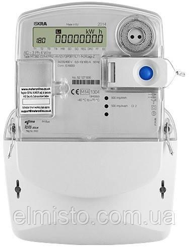 Электросчетчик ISKRA МТ382 D2-P1 3х240/400В 10-120А, А±R±, реле ZO3, с GSM модемом (Словения)