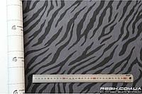 Алькантара самоклеющаяся Decoin (Корея) зебра темно-серый 145х10см