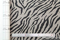 Алькантара самоклеющаяся Decoin (Корея) зебра светло-серый 145х10см