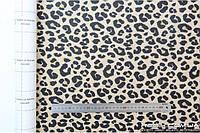 Алькантара самоклеющаяся Decoin (Корея) леопард 145х10см