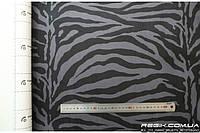 Алькантара самоклеющаяся Decoin (Корея) зебра темно-серый 145х10см (тип Б)