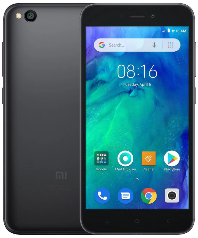 "Xiaomi Redmi Go Black 1/16 Gb, 5"", Snapdragon 425, 3G, 4G (Global)"