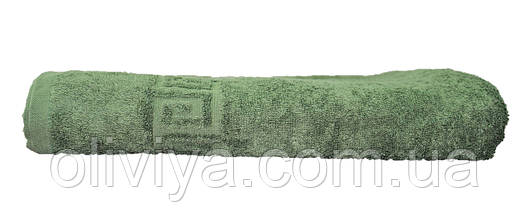 Полотенце для сауны/пляжа (темно-зеленое), фото 3