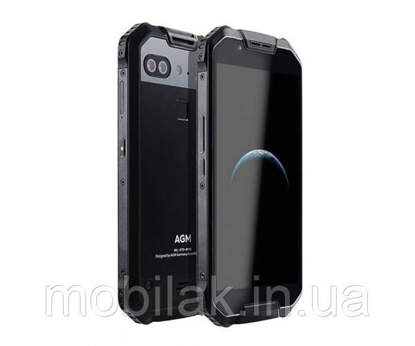 Защищённый смартфон AGM X2 SE 6/64 Гб (Black glass)