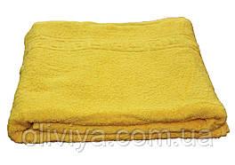 Полотенце для сауны/пляжа (желтое)