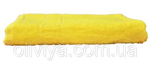 Полотенце для сауны/пляжа (желтое), фото 3