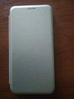 Чехол- книга Premium для Xiaomi Redmi 7  (серебро), фото 1
