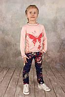 Детский реглан для девочки, на рост 86, 92, 104, 116, 122, 128 см (03-00573-1)