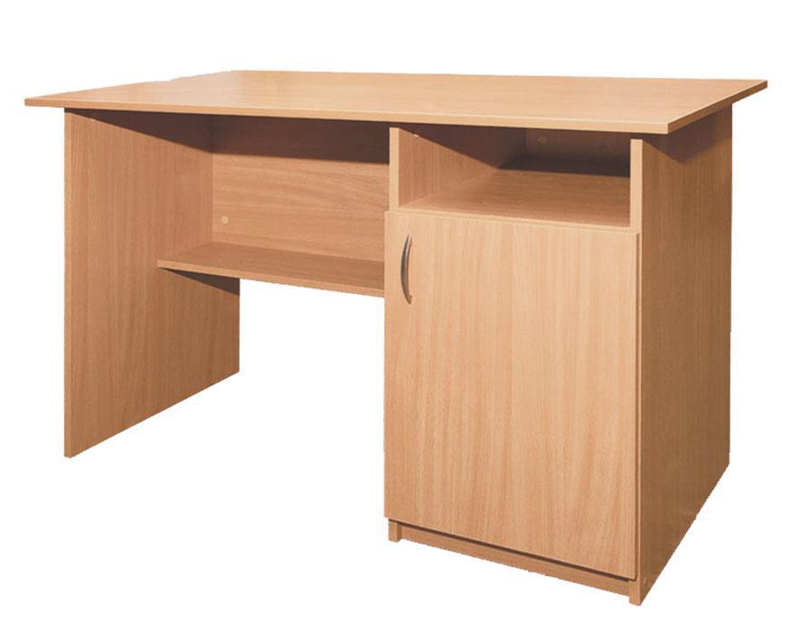 Стол письменный, 1-дверный, тумба справа