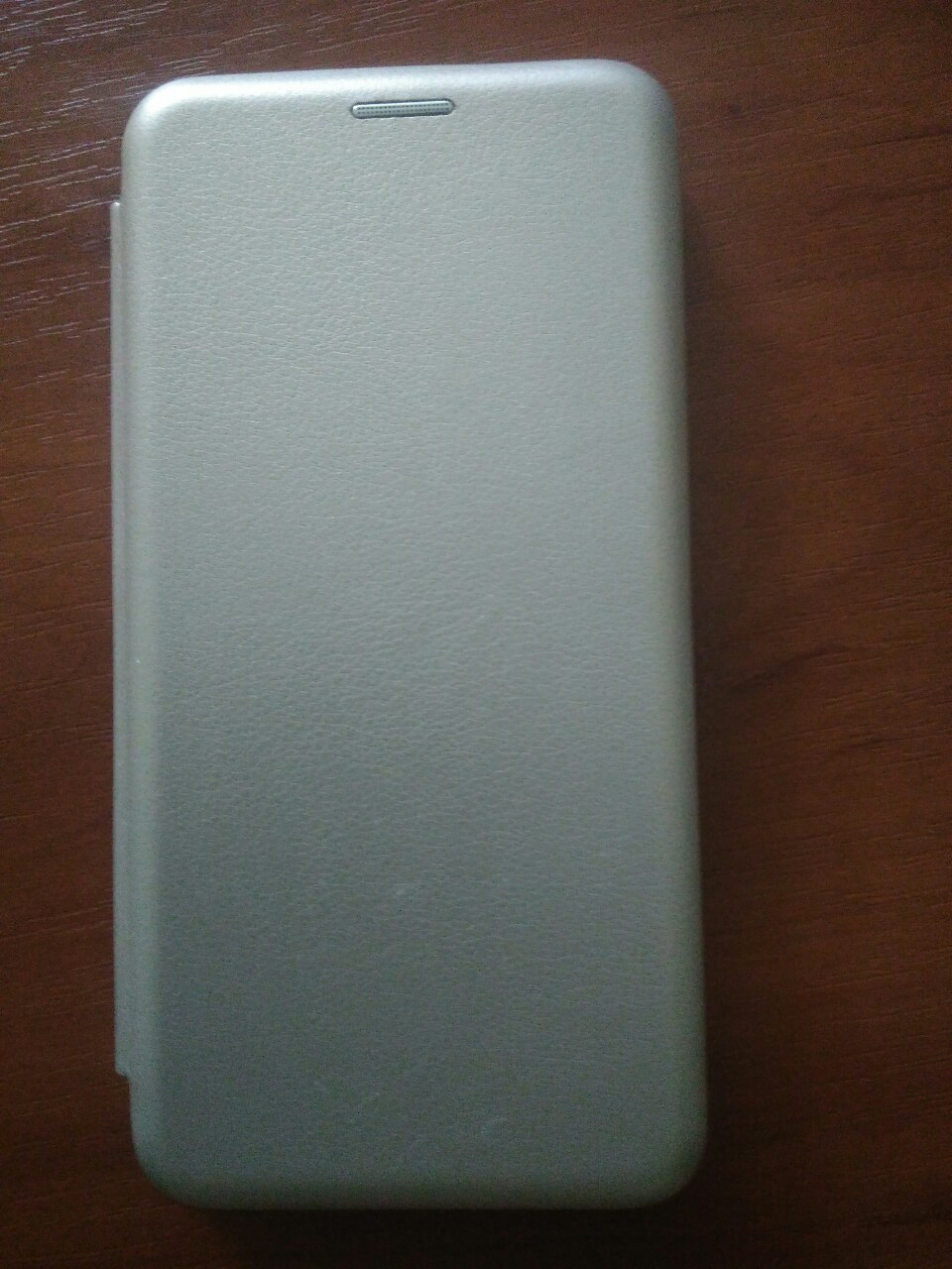 Чехол- книга Premium для Xiaomi Redmi GO (серебро)