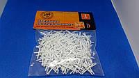 Крестик для керамической плитки белый Премиум 1,0 мм (200шт/пачк)