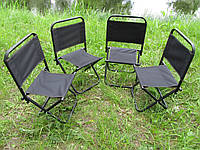 Складные стулья для отдыха (комплект 4 стула)