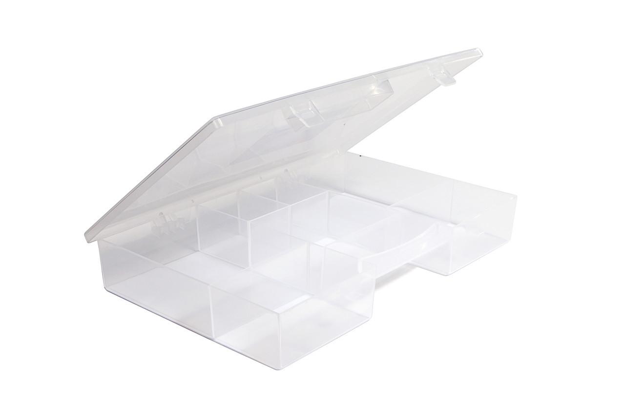 Органайзер пластиковый с крышкой, для мелких предметов Heidrun Diy Mix 28*19,5*4см (HDR-703)