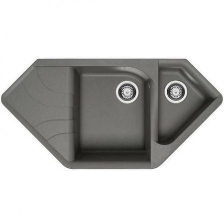 Гранитная кухонная мойка Adamant SPIRIT 1000x500x225 (разные цвета)
