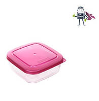 Контейнер для хранения 0,6л, Heidrun FoodKeepers 13,5*13,5*5,5см (HDR-1823)