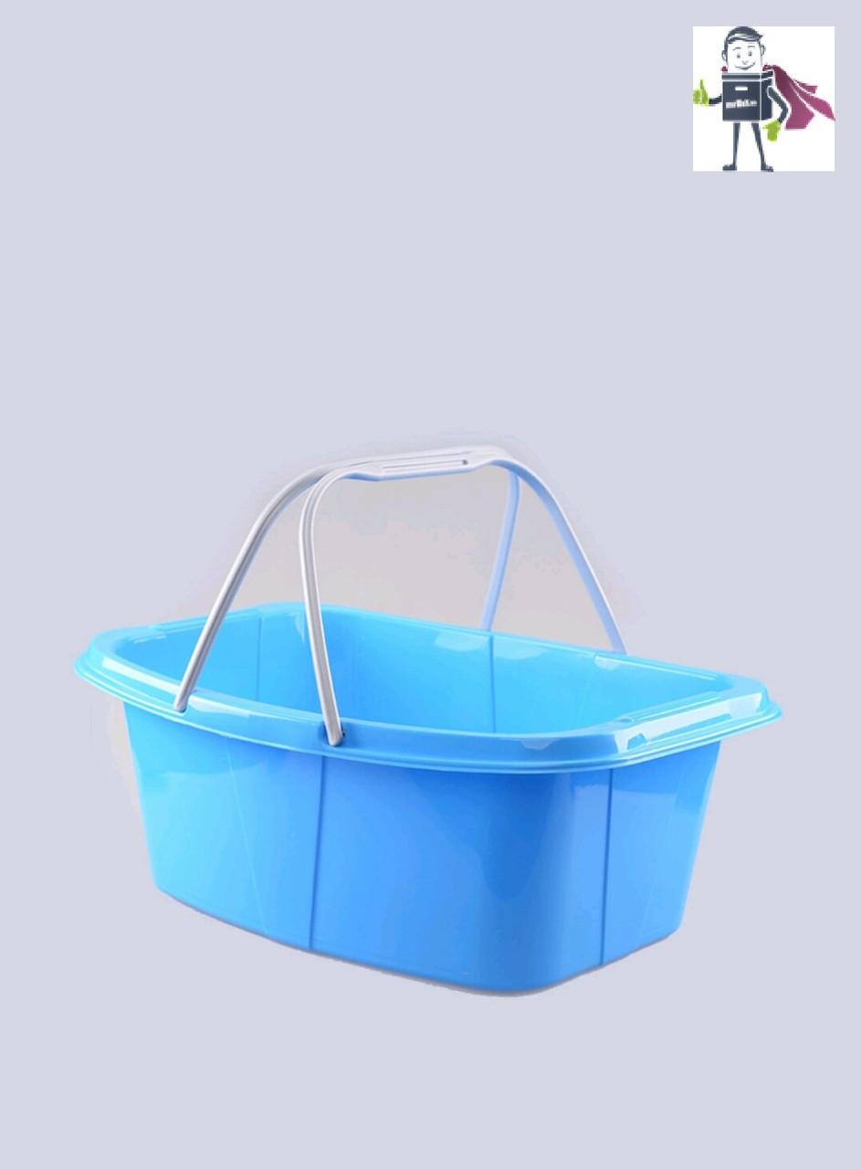Миска-корзина господарська з ручками 26л, Heidrun Laundry 57 * 40 * 20см (HDR-349)