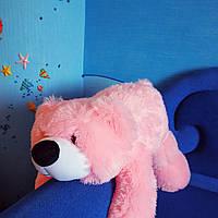 """Розовый плюшевый дружок """"Умка"""" 100 см Украина. Красивый мягкий мишка. Плюшевый медведь 1 метр."""