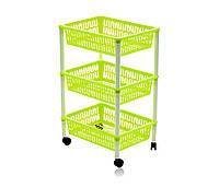 Этажерка трехъярусная Heidrun Baskets, 40*30*66см (PR-1563)
