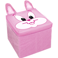 """ПУФ """"Кролик"""" (для игрушек)"""