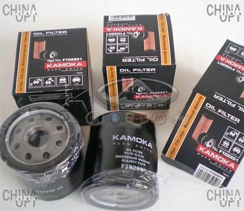 Фильтр масляный, 4G18, Geely EC7[1.8], 1136000118, Kamoka