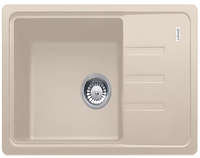 Гранитная кухонная мойка Adamant SLIM 620х435х200(разные цвета)