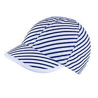 Бейсболка для девочки TuTu  арт. 3-001592(44-46,48-52) Синяя полоска