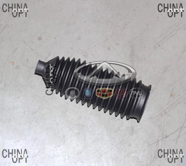 Пыльник рулевой тяги, резиновый, Geely EX7[2.0,X7], 1014020089, Original parts