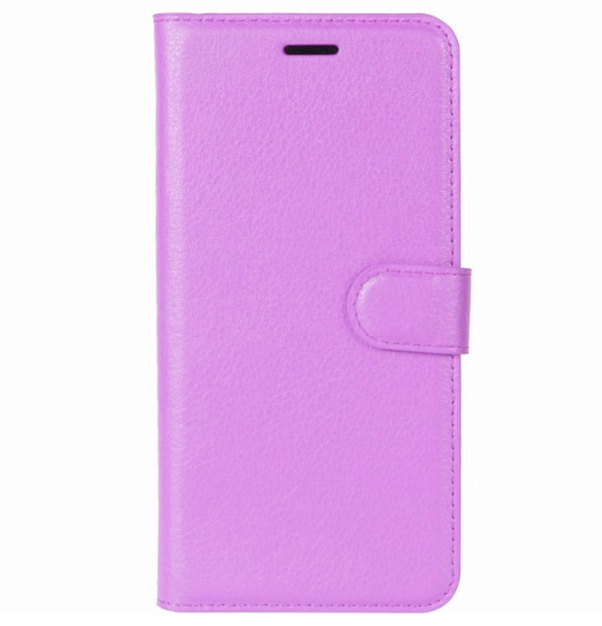 Чехол-книжка Wallet с визитницей для Meizu M6 Note Violet
